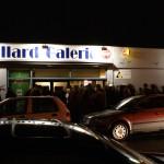 Die Billard Galerie bei Nacht